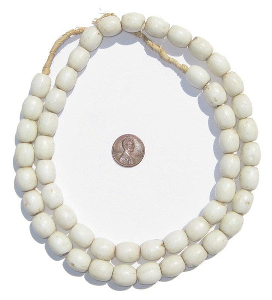 Bohemian Colodonte Beads (White)