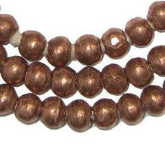 Round Copper Ethiopian Beads (8mm)