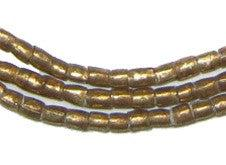 Small Brass Tube Ethiopian Beads - The Bead Chest