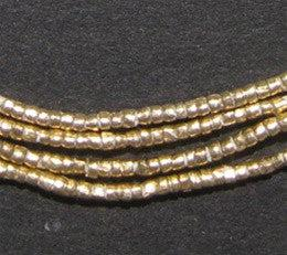 Brass Tiny Heishi Ethiopian Beads - The Bead Chest
