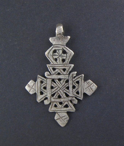 Image of Ethiopian Coptic Cross - The Bead Chest
