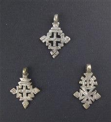 Ethiopian Coptic Cross (Set of 3)