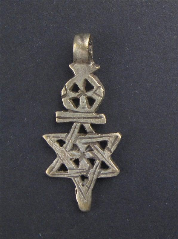 Ethiopian Star of David - The Bead Chest