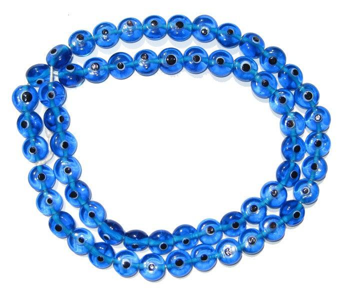 Blue Evil Eye Beads - The Bead Chest