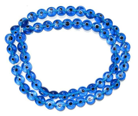 Image of Blue Evil Eye Beads - The Bead Chest