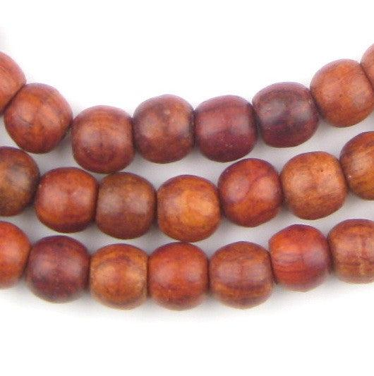 Rosewood Beads (9x11mm) - The Bead Chest
