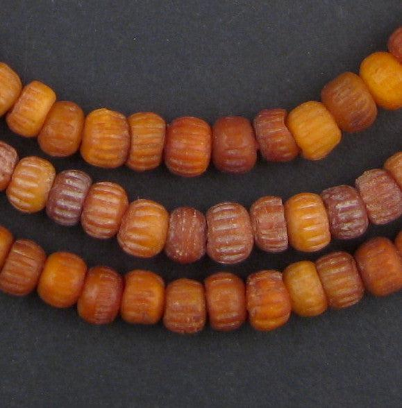Baby-sized Carved Mali Bone Beads (6mm) - The Bead Chest