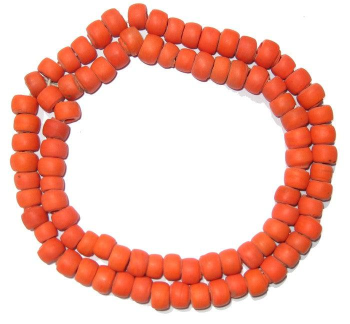 Coral Glass Beads - The Bead Chest