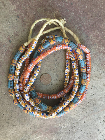 Hot Deal: 3 Strands of Authentic African Krobo Beads - The Bead Chest