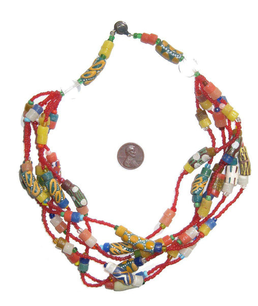 Fancy African Designer Necklace