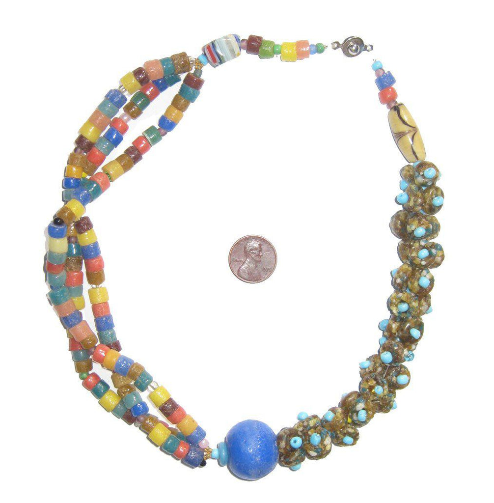 African Designer Necklace - The Bead Chest