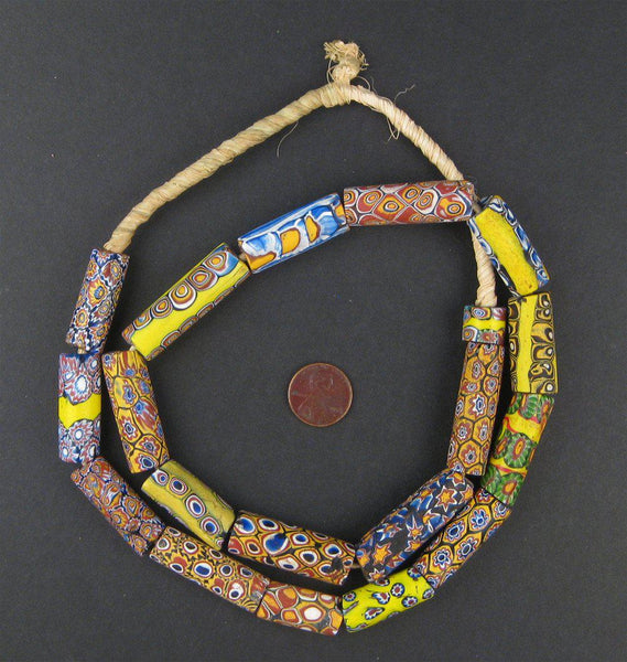 Old Antique Venetian Millefiori African Trade Beads