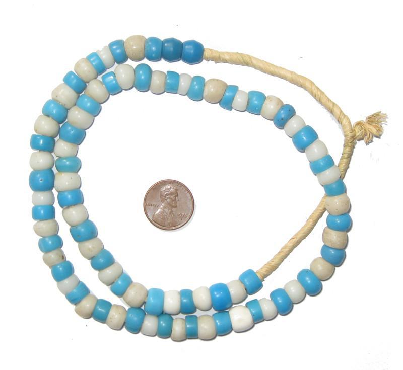 Mixed Blue & White Padre Beads - The Bead Chest