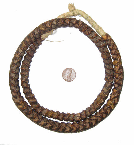 Image of Real Snake Vertebrae Beads from Africa (Large) - The Bead Chest