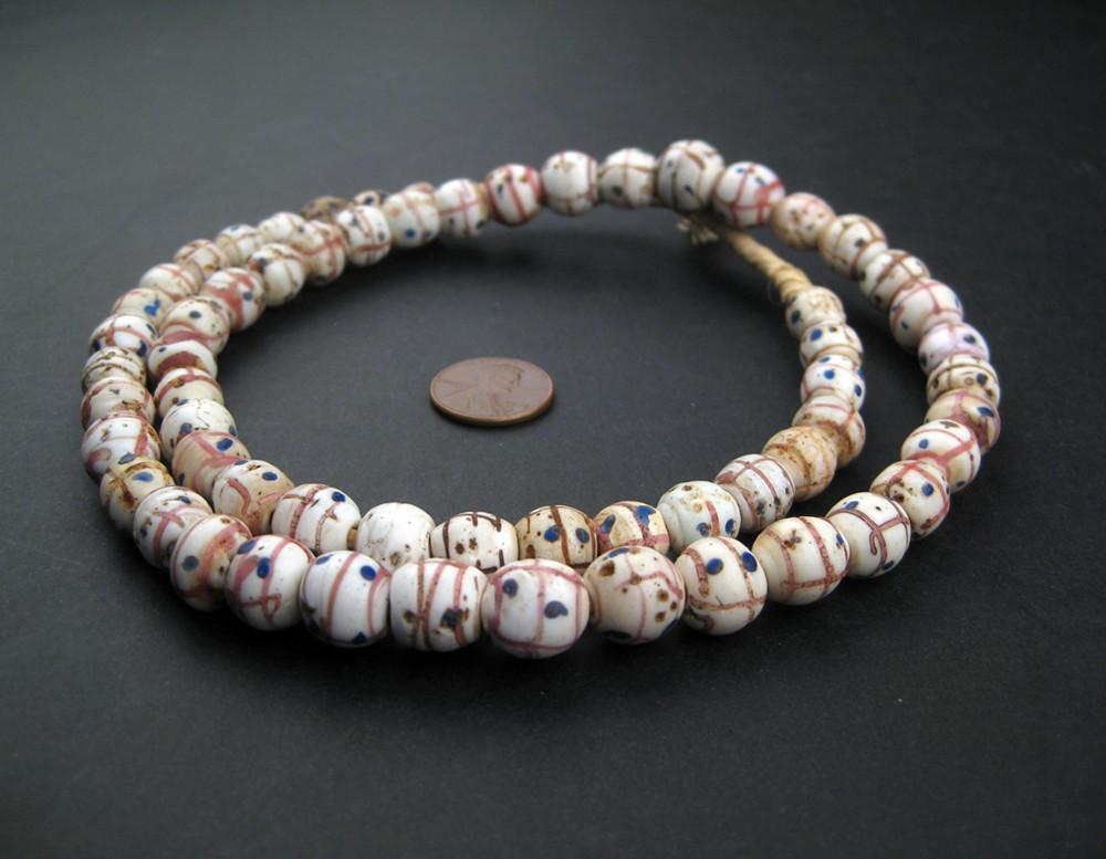 Old Venetian Medicine Man African Trade Beads - The Bead Chest