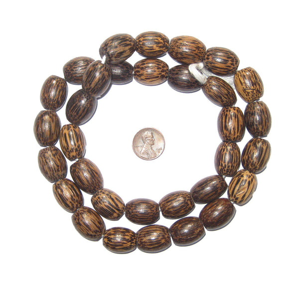 Kenya Palm Wood Beads