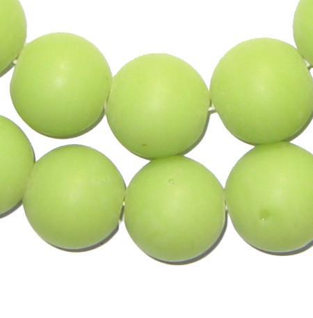 Round Colodonte Beads (Green) - The Bead Chest