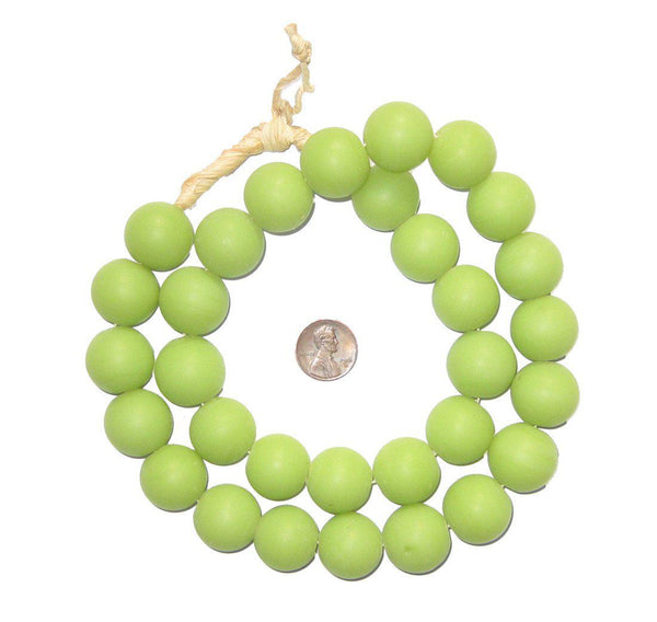 Round Colodonte Beads (Green)