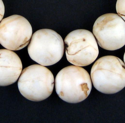 Mother-of-Pearl Round Shell Beads - The Bead Chest