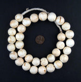 Mother-of-Pearl Round Shell Beads