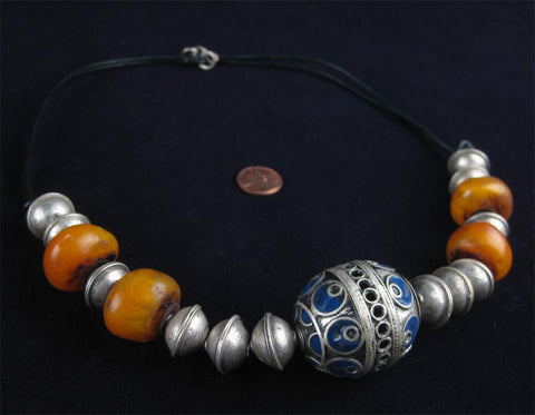 Image of Unique Berber Necklace - The Bead Chest
