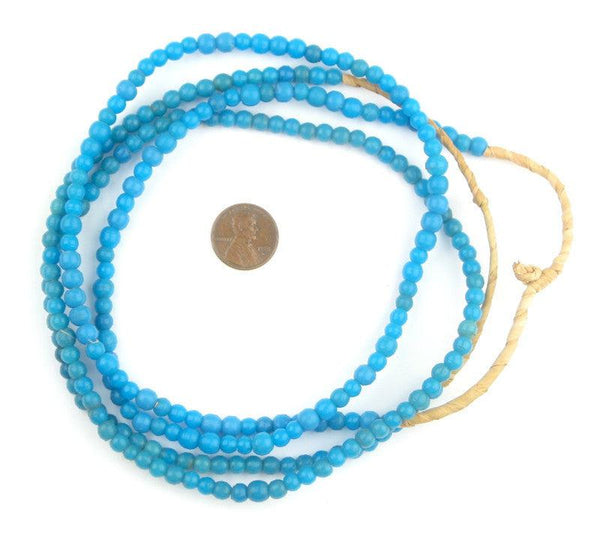 Turquoise Baby Padre Olombo Beads