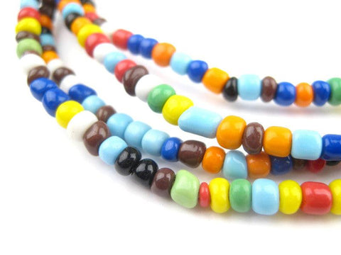 Image of Atuanya Rainbow Beads (2 strands) - The Bead Chest