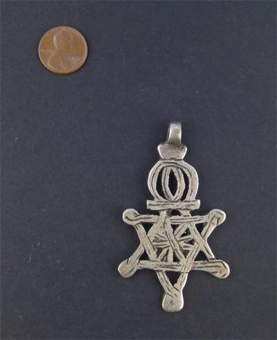 Ethiopian Falasha Star of David (Large)