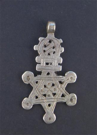Ethiopian Falasha Star of David (Large) - The Bead Chest