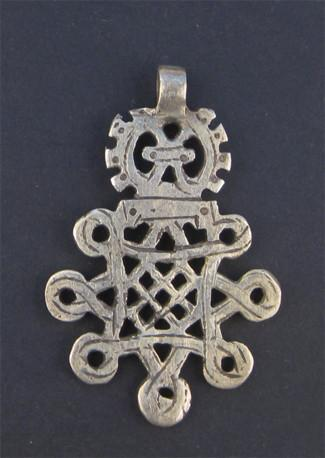 Image of Ethiopian Coptic Cross (Large) - The Bead Chest