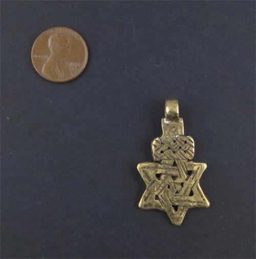 Ethiopian Falasha Star of David (Small)