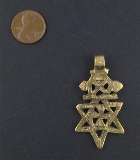 Falasha Star with Crown (Small)