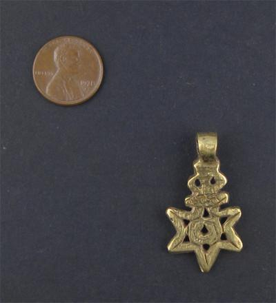 Image of Falasha Star with Eye (Small) - The Bead Chest