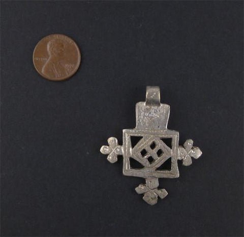 Image of Ethiopian Coptic Cross (Small) - The Bead Chest