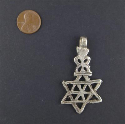 Ethiopian Falasha Star of David (Medium) - The Bead Chest