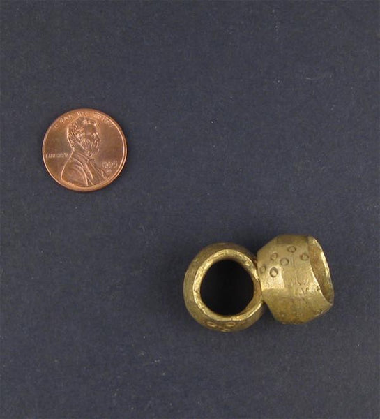 Brass Ethiopian Wollo Rings (Set of 2)
