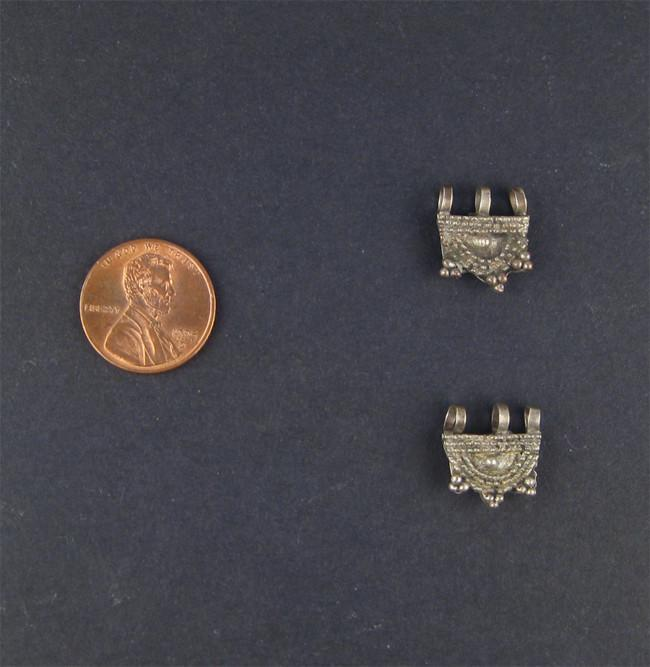 Ornate Ethiopian Telsum Bead (Set of 2) - The Bead Chest