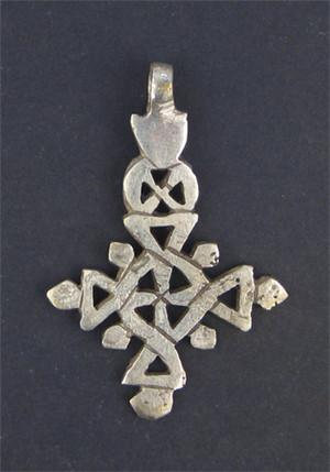 Image of Ethiopian Coptic Cross (Medium) - The Bead Chest