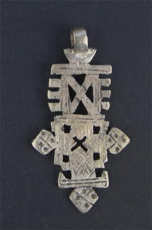 Ethiopian Coptic Cross (Medium) - The Bead Chest