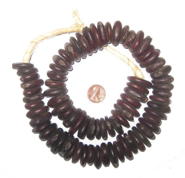 Unusual Ethiopian Natural Plant Seed Beads - The Bead Chest
