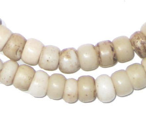 Old White Padre Beads - The Bead Chest