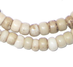 Old White Padre Beads