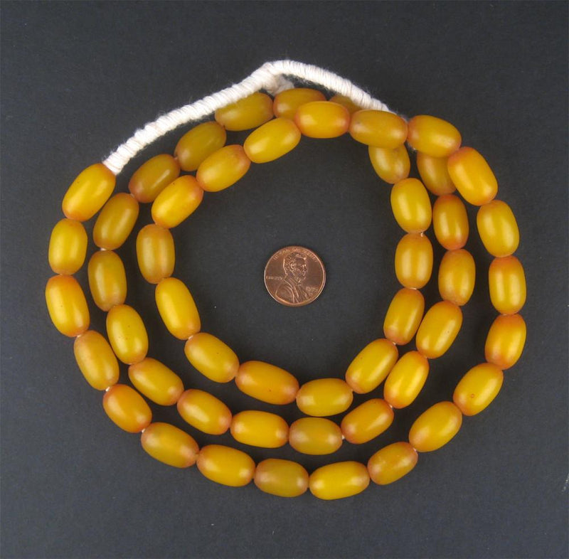 Ethiopian Amber Resin Beads (Long Strand) - The Bead Chest