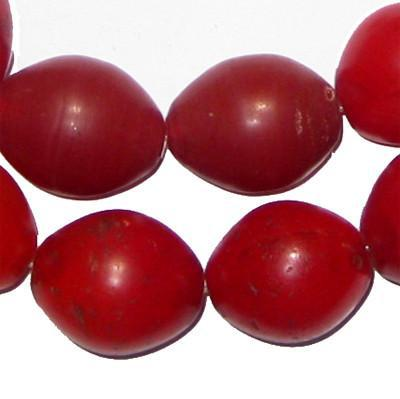 Red Tomato Beads (23 x 18mm) - The Bead Chest