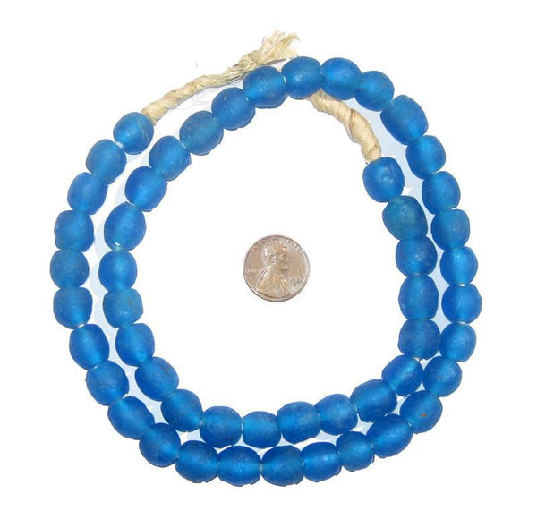Azul Recycled Glass Beads (11mm)