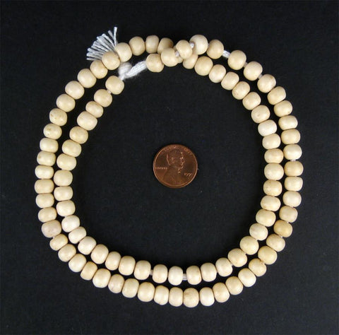 Round Bone Beads (8mm) - The Bead Chest