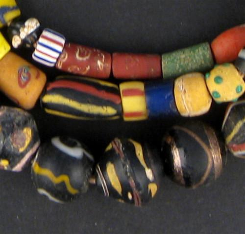 Premium Antique Venetian Mixed Trade Beads - The Bead Chest