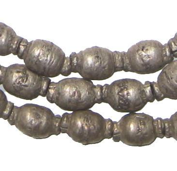 Old Silver Ethiopian Prayer Beads - The Bead Chest