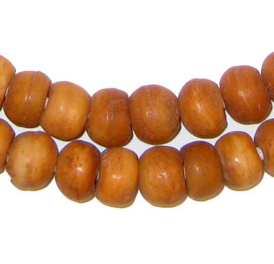 Round Nigerian Horn Beads - The Bead Chest