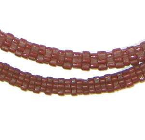 Brown Star Snake Beads - The Bead Chest